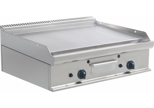 Saro Professional Gas Grill Plate | 2 Zones | 80x70x (H) 27 cm