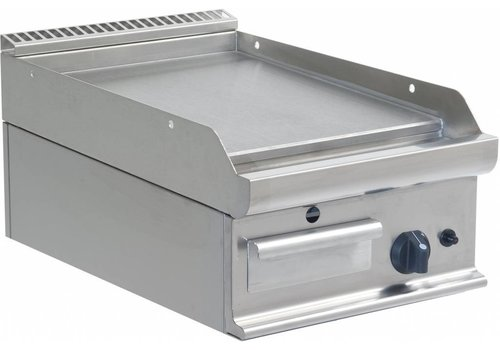 Saro Professional Gas Griddle Smooth | 40x70cm