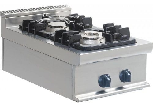 Saro Horeca Stovetop Tabletop 12kW | 2 Burners