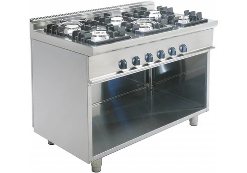 Saro Stove with Open Frame | 6 Burners