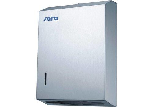 Saro Papierhanddoek RVS dispenser - HUFTERPROOF