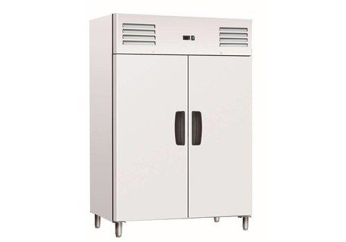 Saro Kühlschrank Edelstahl | 2 Türen | 1150 Liter