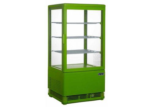 Saro Koelvitrine Groen 70 Liter