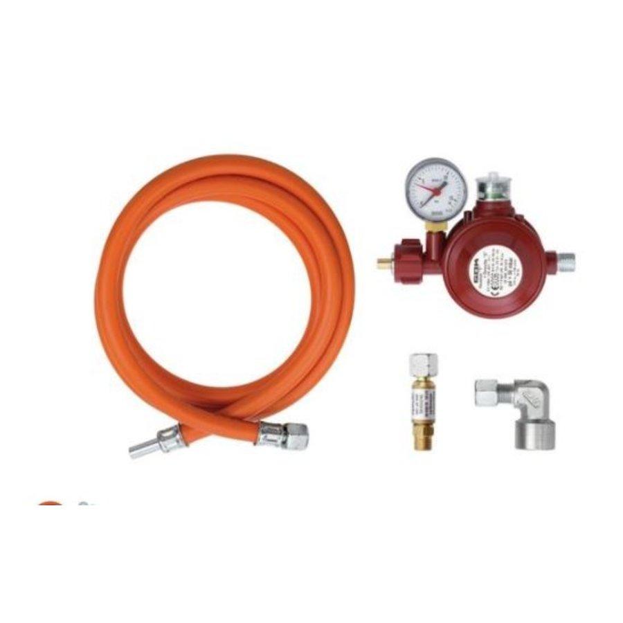 Gas connection set GW-AI
