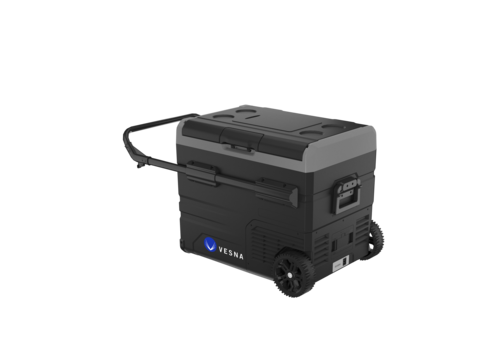 Vesna Cool box on wheels   black   45 liters   temperature -20 to +20 degrees Celsius