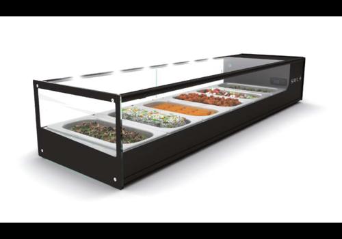 Sayl Refrigerated display case   Tapas   168 x 38 x 22.5 cm