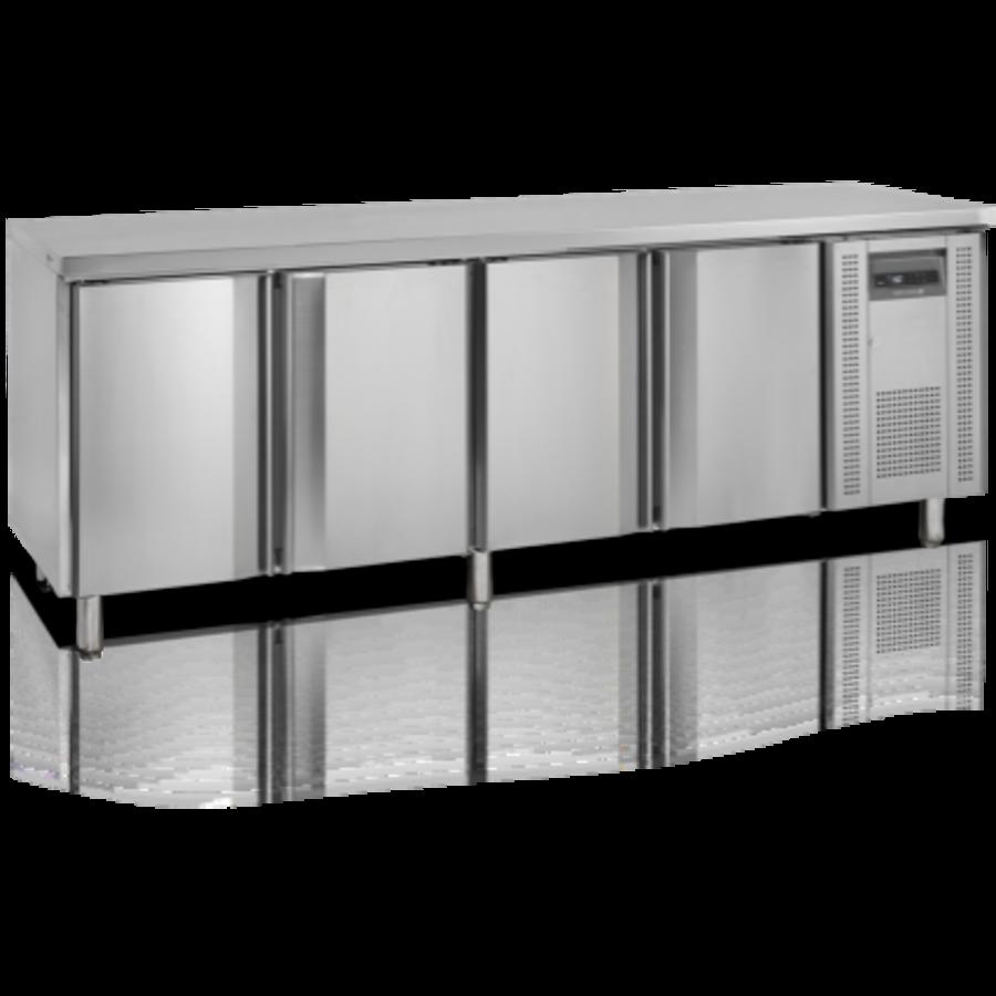 Cooling workbench 4 doors