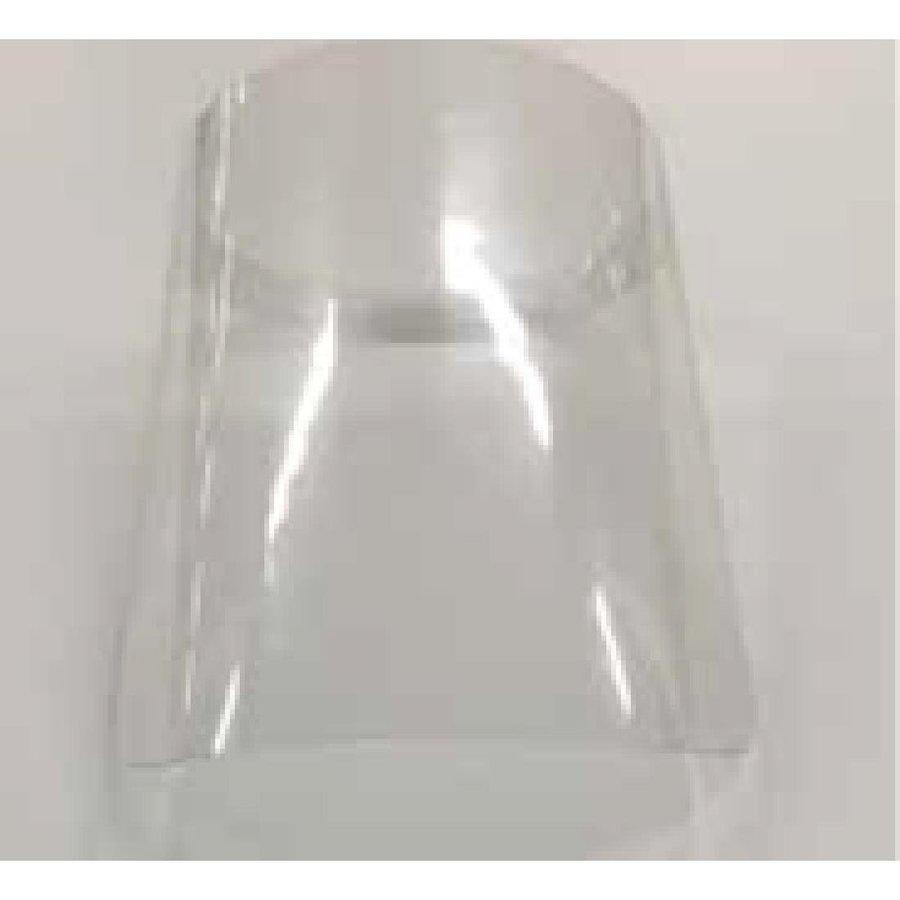 Plastic face shield   10 pieces