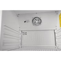 White Bottle fridge with glass door 400 liters 185(h) x 60(w) x 60(d)cm