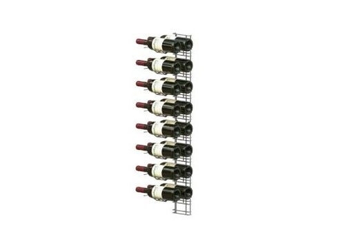 HorecaTraders Wine Presentation Rack - 16 Bottles
