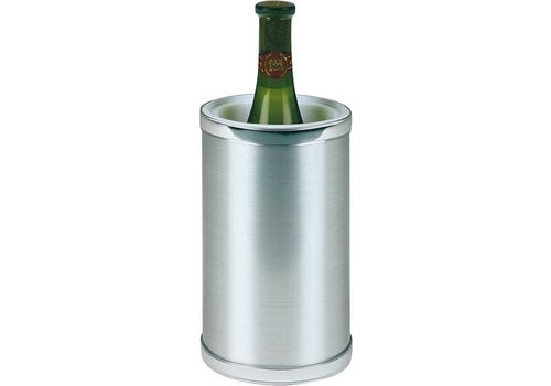 HorecaTraders Wine cooler Plastic stainless steel look