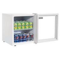 Premium Mini Fridge | White Double glass | 46 liters