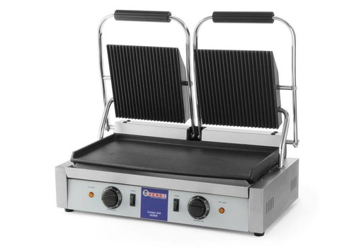 Hendi Contact grill double 57x37x21 cm