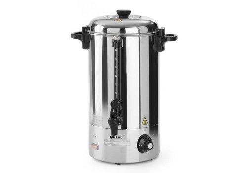 Hendi Stainless steel Hot drinks kettle 10 liters