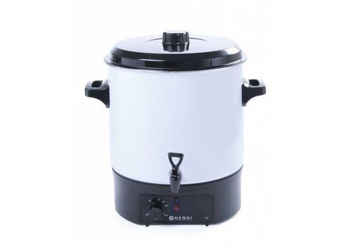 Hendi White hot drinks dispenser 27 liters