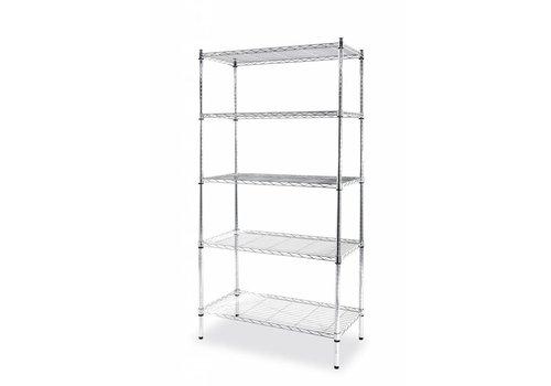 Hendi Storage rack chrome-plated