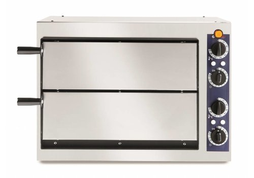 Hendi Horeca Double Pizza Oven 2400 Watt 2 Pizzas