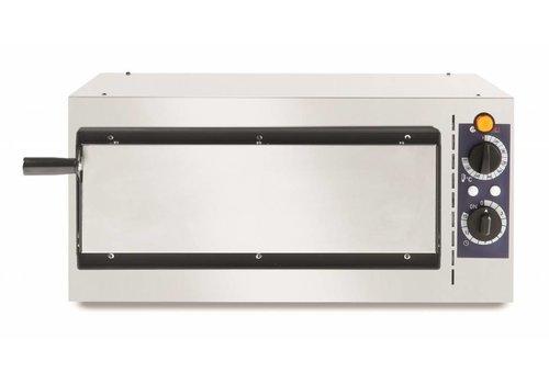 Hendi Single stainless steel pizza oven 1600 Watt 1 Pizza