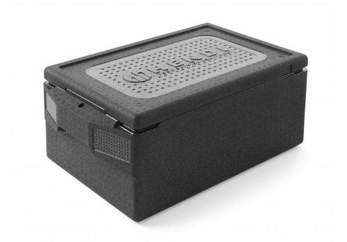 Hendi Thermobox 1/1 GN Schwarz   39 Liter