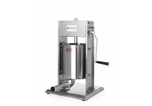 Hendi Professionele Worstenvulmachine | 10 Liter