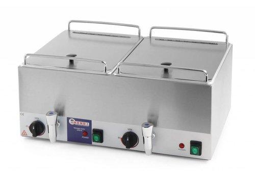 Hendi Worstenwarmer | 2x10 Liter