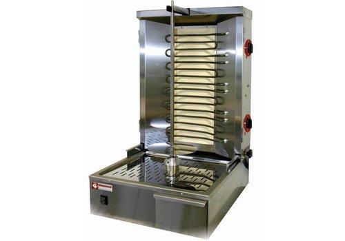 Diamond Elektrisch Kebab grill 35 kg