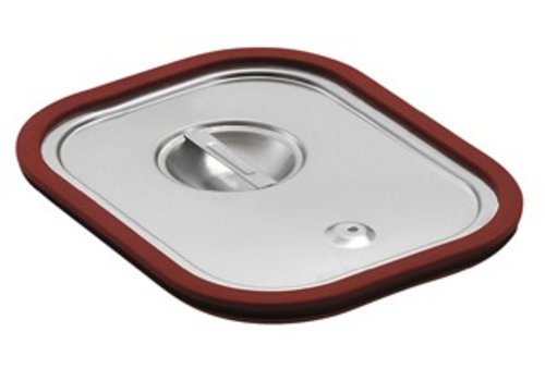 Bartscher GN lid with silicone seal | GN 1/6