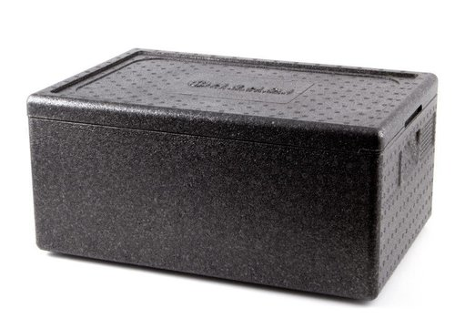 Hendi Thermobox Polypropyleen Zwart | 5 Formaten