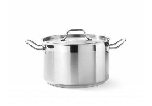 Hendi Kookpan Middel met deksel | 6 Formaten