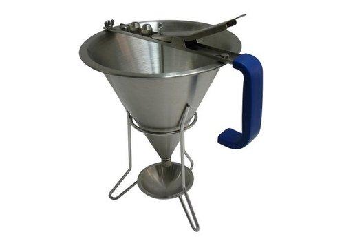Hendi Fondant funnel stainless steel 190x220 mm