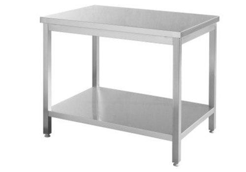 Hendi RVS Werktafel | 5 Formaten
