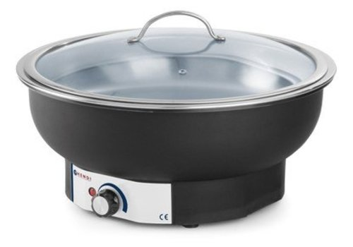 Hendi Chafing dish electrically round