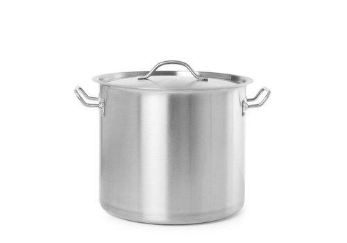 Hendi Kookpan met deksel | 7 Formaten