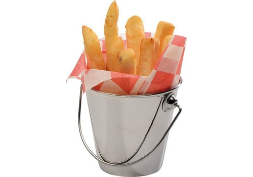 APS Stainless Steel Buckets 0,33liter | 4 pieces