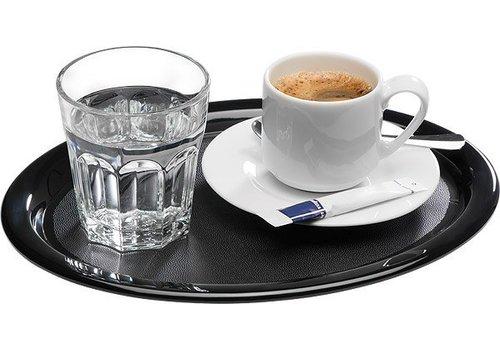 APS Melamine serving trays | Black
