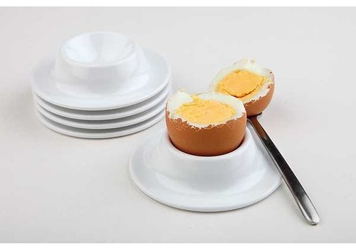 APS Luxury Egg Holder White Melamine Ø8,5x2cm (4 pieces)