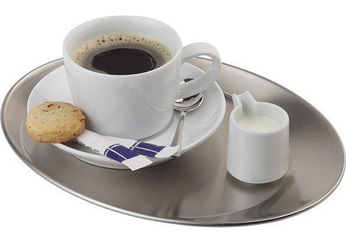 APS Koffie Serveer Schaal | mat Gepolijst