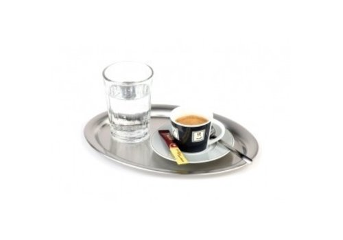 APS Kaffee Servierplatte Oval Gloss 29x22 cm