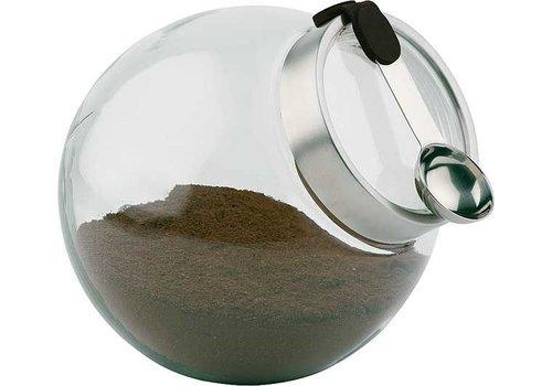 APS Glazen koffie/kruiden bewaarpot