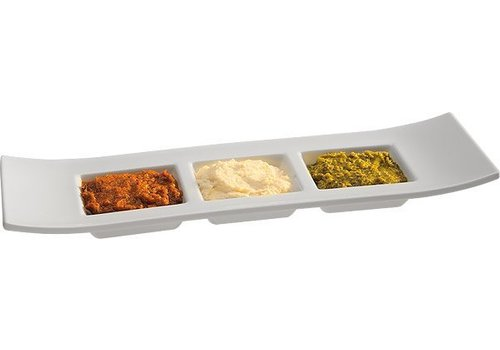 APS Stapelbare Sauce Schüssel aus Melamin | 29x9x3cm
