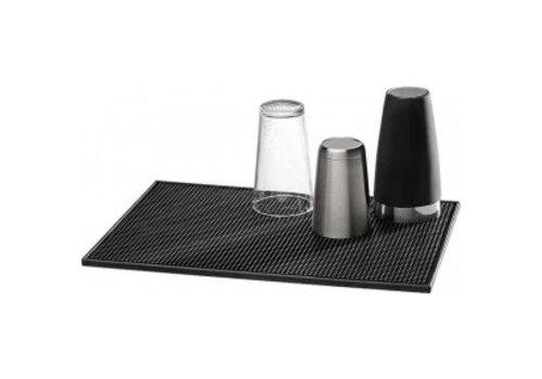APS Bar mat black | 30 x 15 cm