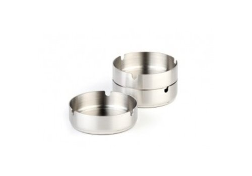 APS Ashtray Round stainless steel Ø10cm