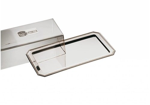 APS Cheese serving dishes stainless steel 35x19cm