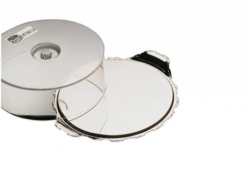 APS Pastry serving dish stainless steel 32x10 cm