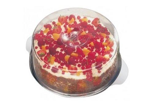 APS Kuchen Edelstahl-Halter 30 cm