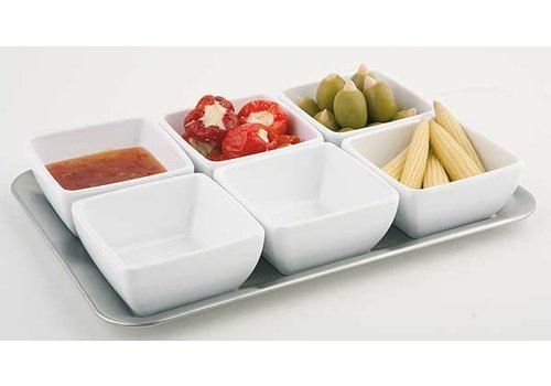 APS Dish stainless steel dish 29x20 cm