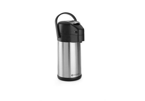 Hendi Pump jug   Stainless steel   3 liters