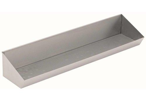 HorecaTraders RVS Friet Voorraadbak 120 cm