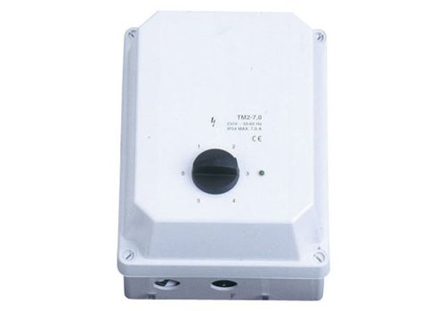 HorecaTraders Drehzahlregler Lüftung 1 Stufe 5 Ampere