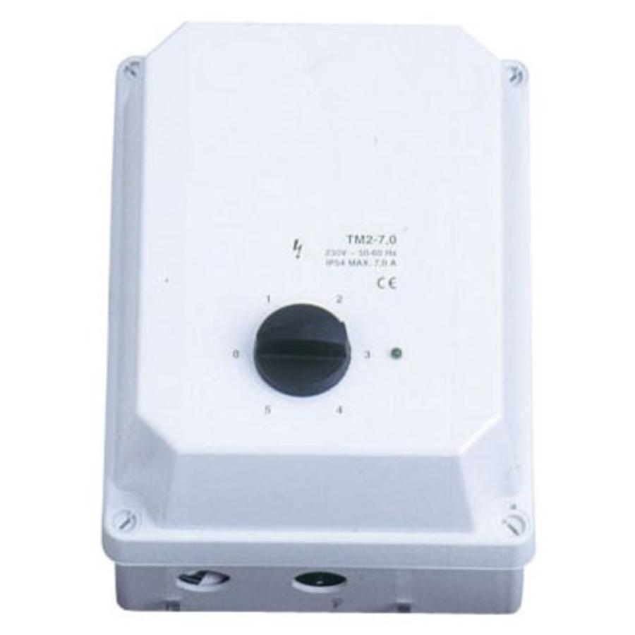 Professionele Ventilator Schakelaar 1 Fase 3 Ampere